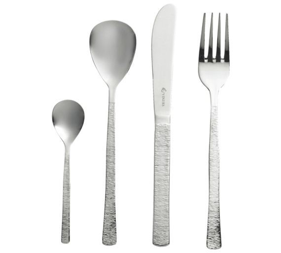 Buy Viners Studio Stainless Steel 16 Piece Cutlery Set at Argos.co.uk - Your Online Shop for Cutlery, Tableware, Cooking, dining and kitchen equipment, Home and garden.