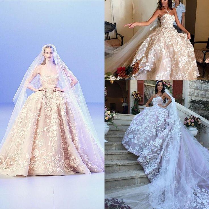 Весна Элитная Изображения Онлайн Свадебные Платья Удивительные Цветочные Полное Лиф Без Бретелек Часовня Поезд Свадебное