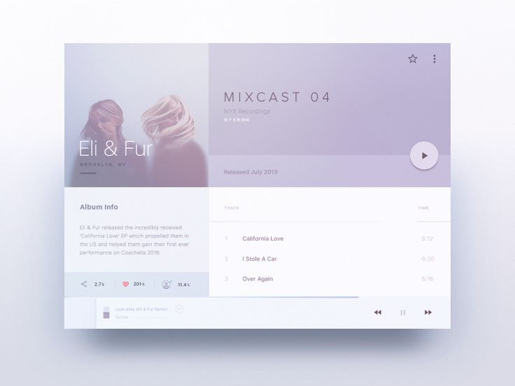 MIXIN – Tablet Player