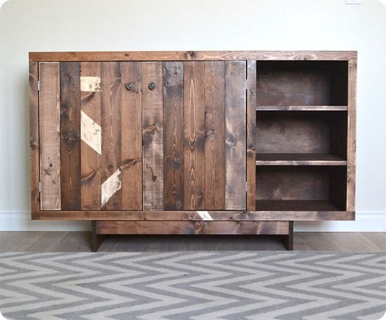 """""""Rustic Yet Refined"""" Baby Changing Table"""
