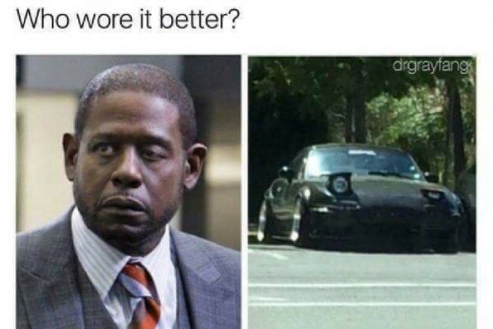 Who Wore It Better Forest Whitaker Eye Meme Super Funny Pictures Funny Friday Memes Funny Pictures
