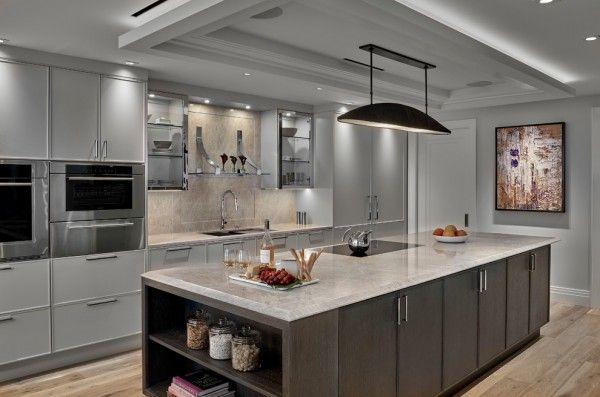 20 Best Dark And Light Grey Kitchen Cabinet Ideas