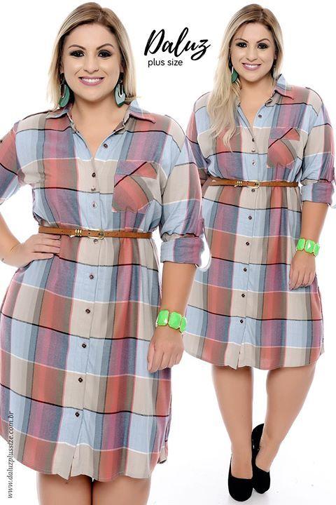 Vestido Plus Size Marie  - Coleção Outono Inverno Plus Size - daluzplussize.com.br