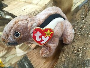 Chipper The Chipmunk Beanie Baby 1999 Creepy Stuffed Animal Rodent | eBay