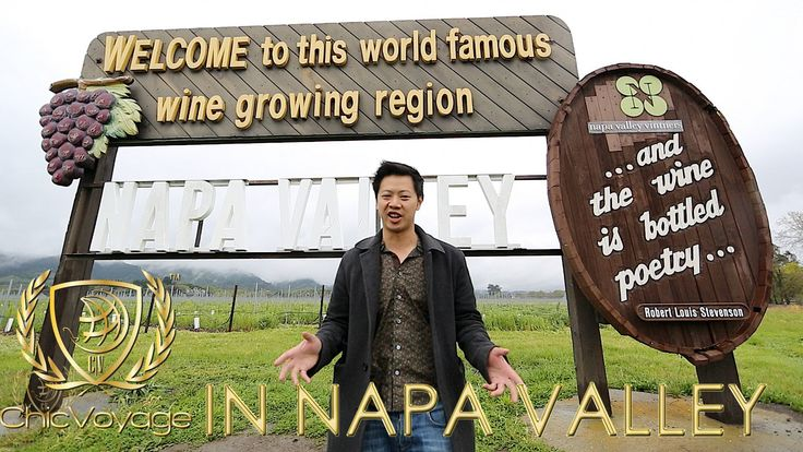 ChicVoyage in Napa Valley Greg takes a trip out to Nappa Valley to visit Robert Mondavi http://chicvoyageproductions.com