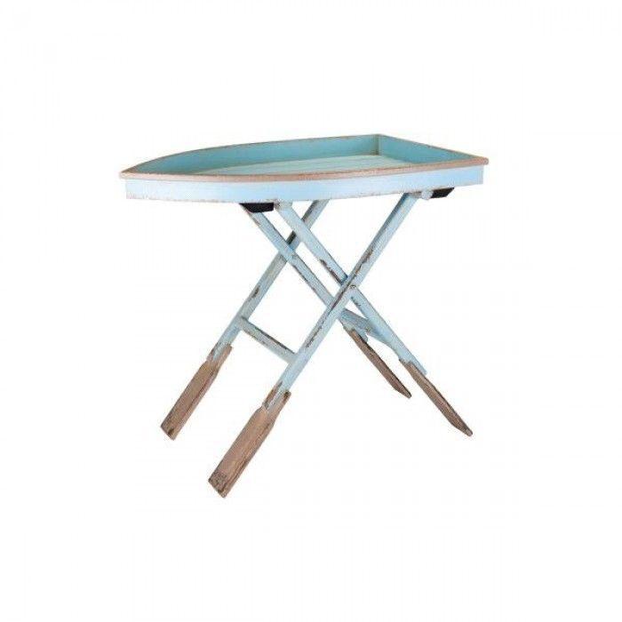 Beistelltisch Klapptisch Holz Tisch Couchtisch Bistrotisch klappbar Boathouse
