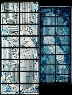 New JAPAN Yokohama Meiji Gakuin Universit t Glasmalerei Entwurf Design