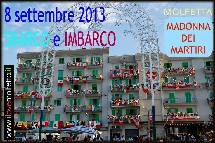 Banchina Seminario Molfetta Madonna dei Martiri  8 settembre 2013 www.ilovemolfetta.it