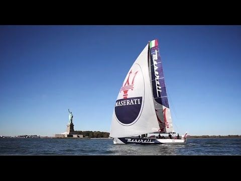 Maserati and Giovanni Soldini - Now for the next challenge - YouTube