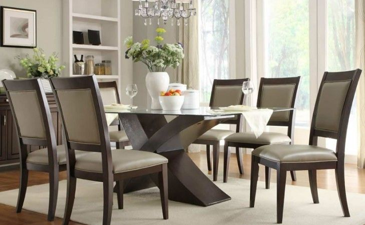 Elegant And Beautiful Round Glass Dining Table - googletag.cmd.push(function() googletag.display('div-gpt-ad-1471931810920-0'); ); Elegant And Beautiful Round Glass Dining Table – Round glass dining table can be one of the good things that you can choose to beautify your dining room in the house. Why, this kind of table... Glass Dining Table, Modern Glass Dining Table, Oval Glass Dining Table, Round glass dining table http://evafurniture.com/elegant-an