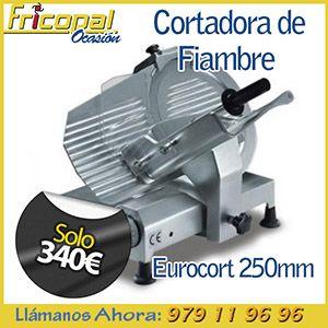 cortadora de fiambre de segunda mano eurocort