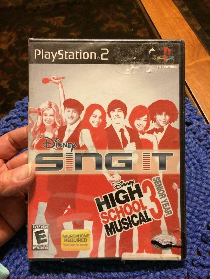 Disney Sing It High School Musical 3 Senior Year PS 2  | eBay