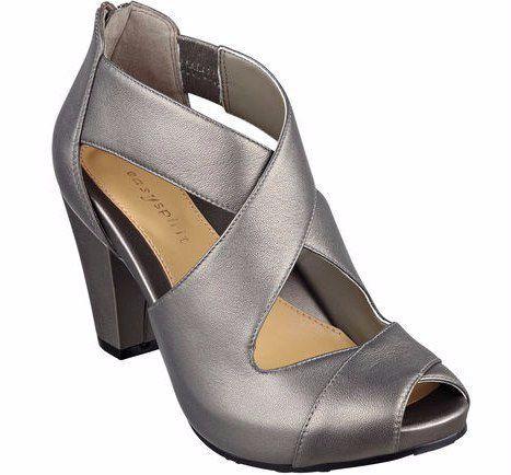 Easy Spirit's Renske Peep Toe Pumps | 17 Cute Heels For Women Who Hate Wearing High Heels