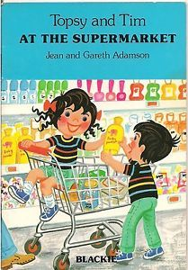 Topsy and Tim at the supermarket