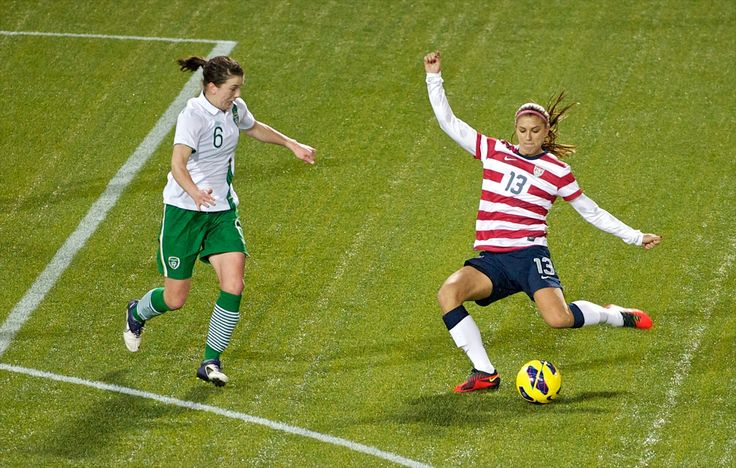 Alex Morgan. I Was Front Row At This Game vs. Ireland