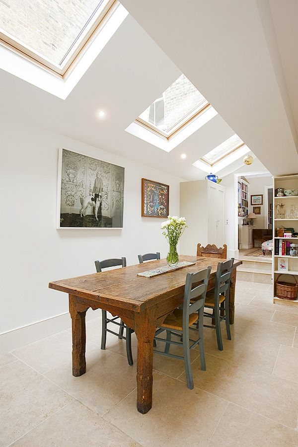 Stockwell in Stockwell, Greater London, Side Extension, Kitchen Extension, Victorian Terraced House, Bi-Fold Doors, Kitchen, Rear Extension, Roof-lights, Glass Roof, Kitchen, Pitched Roof, Side Return Ideas, Kitchen Extension Ideas, Dinning room ideas, Dinning, Home improvements,