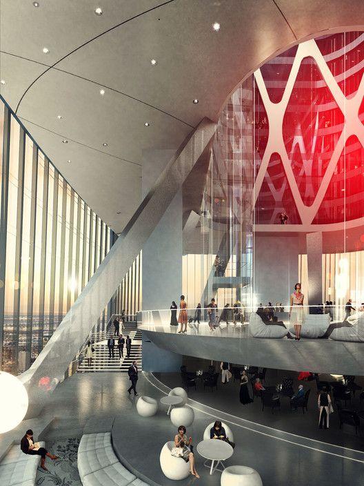 Haikou Tower Competition Winner / HENN,Courtesy of Henn Architects