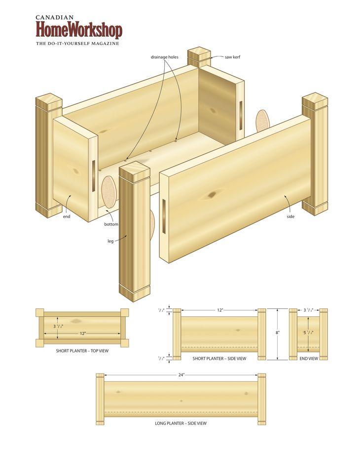 Deck planter box, part 2(Canada homeworkshop) - 25+ Best Cedar Planters Ideas On Pinterest Cedar Planter Box