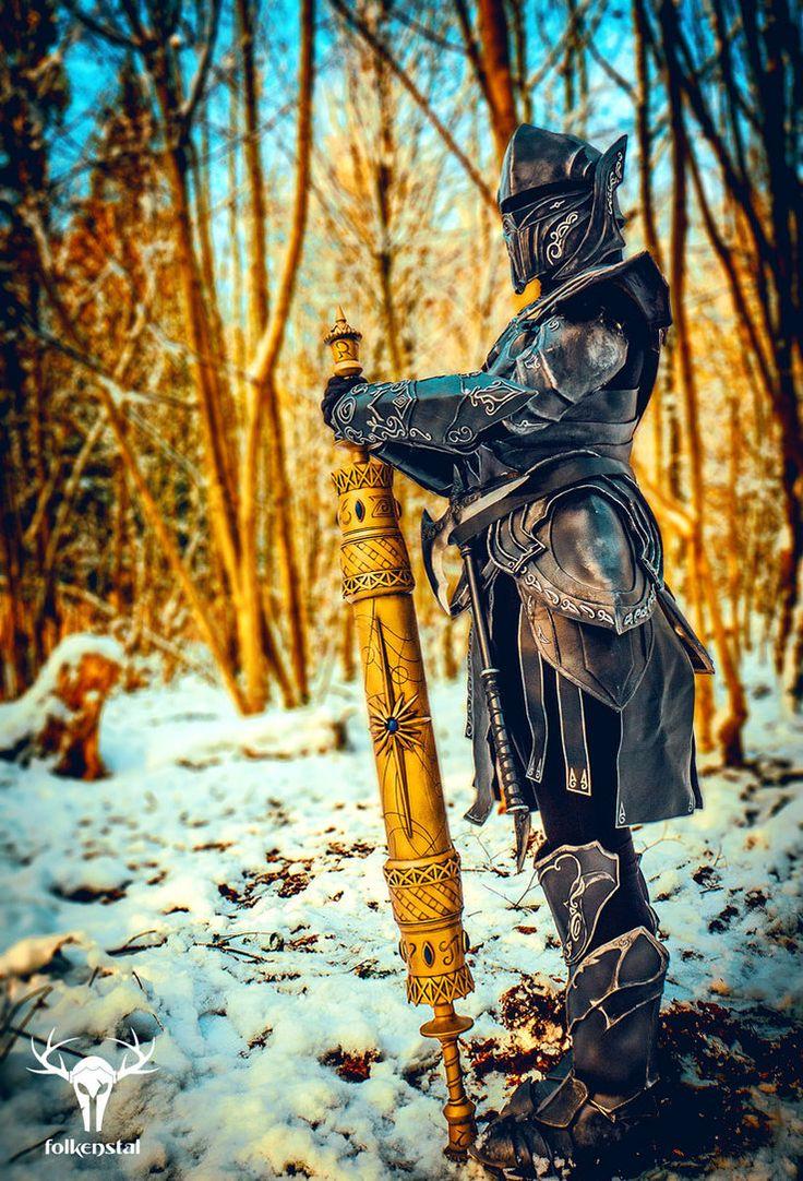 Amazing Skyrim Ebony Armor
