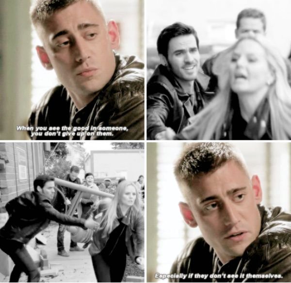 """""""And if you're lucky enough to find true love, you fight for it every day."""" Will Scarlet"""