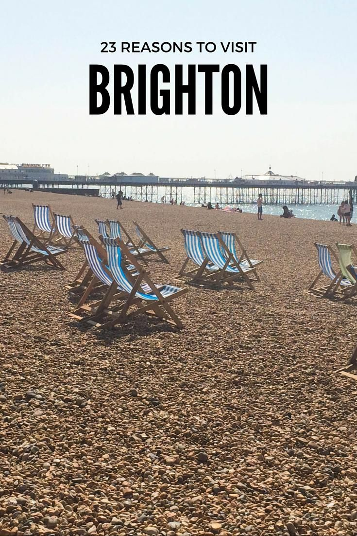 Brighton | England - there are so many fun activities to try on a visit to this most British of seaside resorts. Amble along Brighton Pier, discover the Brighton Pavilion get lost in the Laines. Plus many more reasons to visit buzzing Brighton