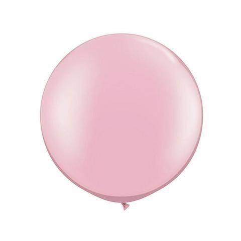 Jumbo Pastel Pearl Pink Balloon (90cm)