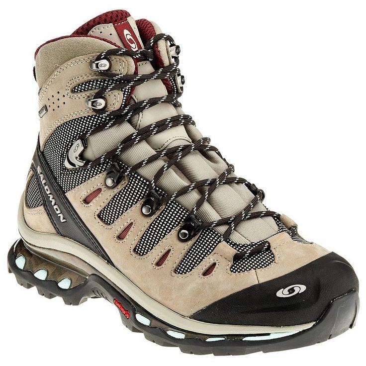 Chaussures de randonnée Decathlon, achat pas cher Chaussure Quest 4D GTX Femme SALOMON FRANCE prix promo Decathlon 159.00 € TTC