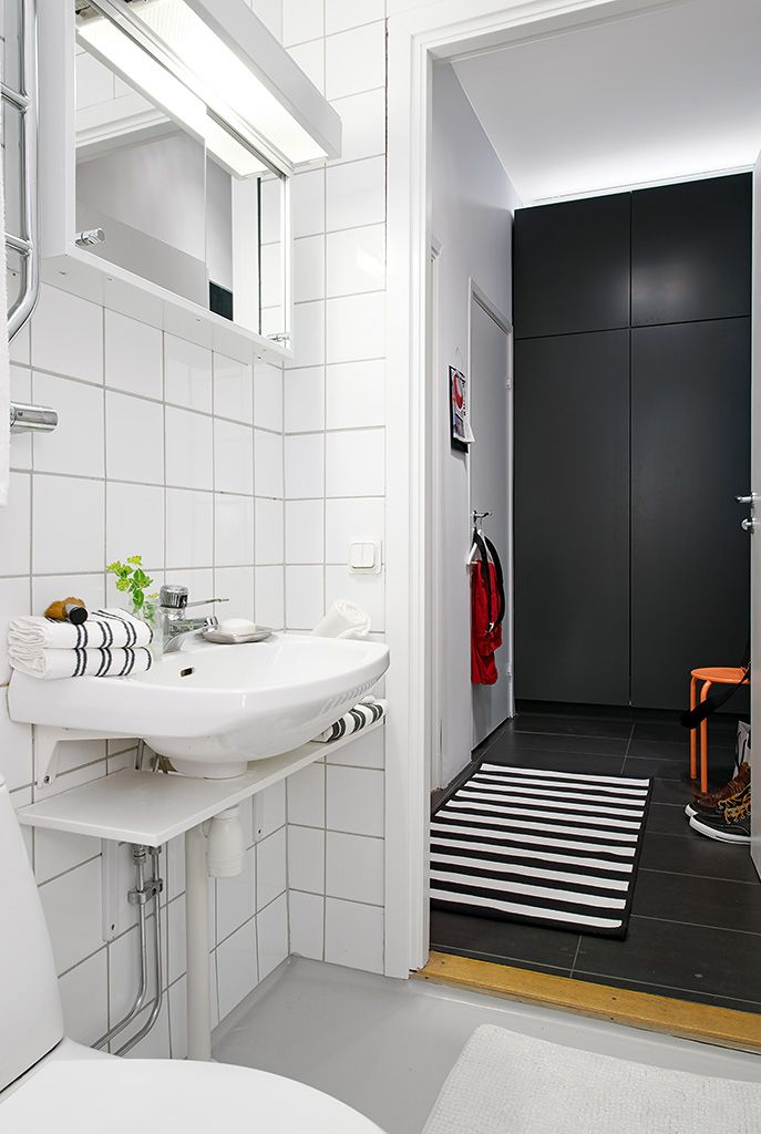 Swedish apartment boasts exciting mix of old and new bathroom designs pinterest cuba Do your own bathroom design