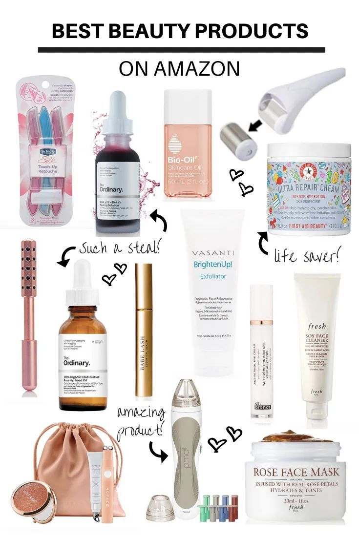 Best Beauty Products On Amazon Skin Care Amazon Beauty Products Beauty Hacks