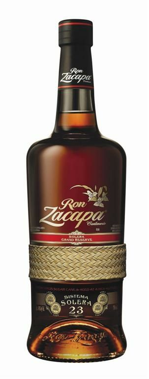 Zacapa 23. It doesn't get any better.