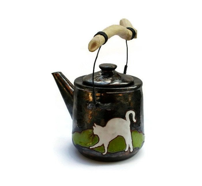 Pottery Teapot Unique Teapot Pottery Tea Kattle by MMceramicdesign
