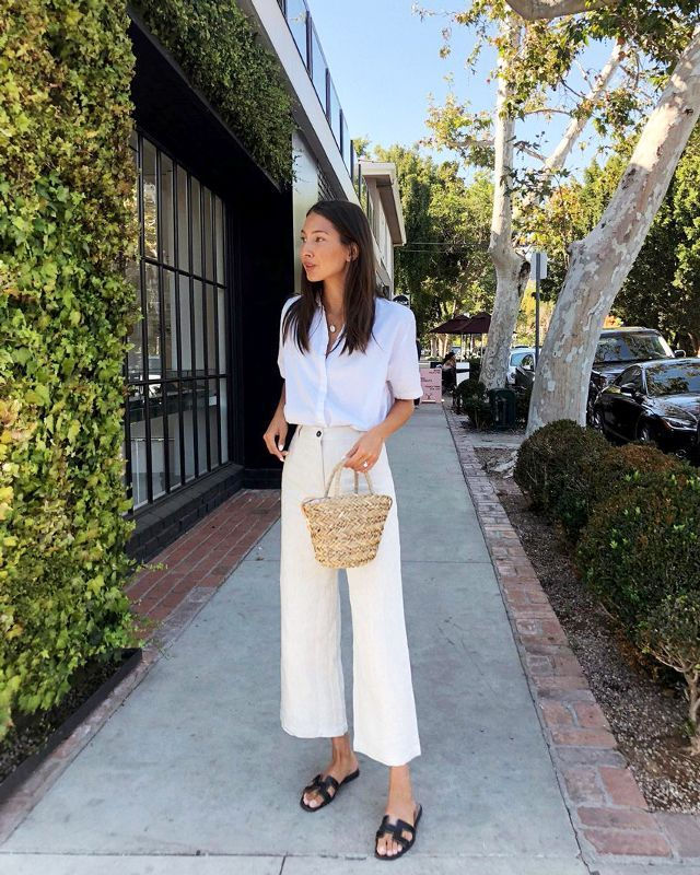 5bc5e4f67c8 Chic outfits with sandals to try this summer