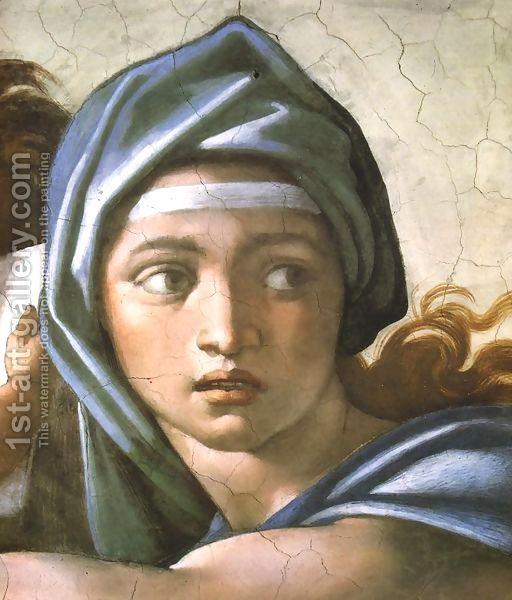 Delphic Sibyl by Michelangelo Buonarroti