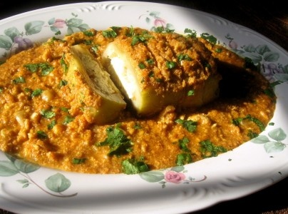 here is an interesting vegetarian dish from the awadhi