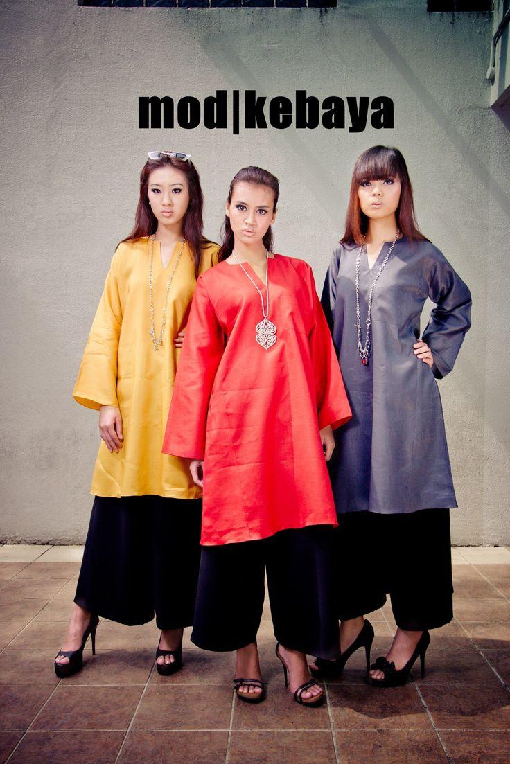 Mod kebaya w/ pants.