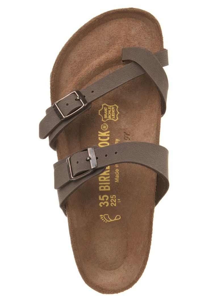 Birkenstock - MAYARI - Zehentrenner - mocca Someone buy these for me