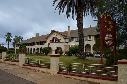 Hydro Hotel Leeton, NSW built 1920 in Spanish Mission style