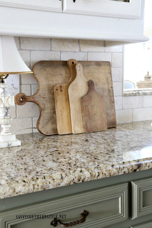 Savvy Southern Style The Kitchen Reveal Take Two French Country Kitchensfrench Kitchengreen Country