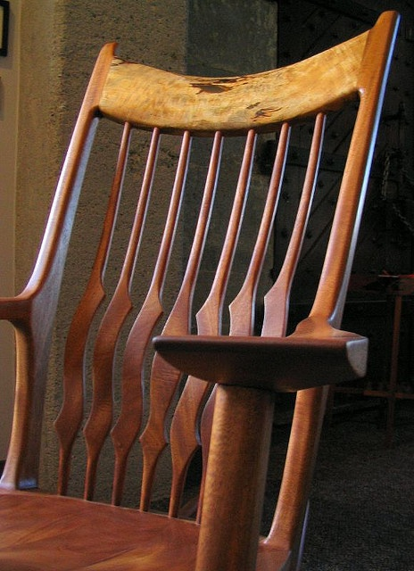 Plans For Maloof Rocking Chair - WoodWorking Projects & Plans