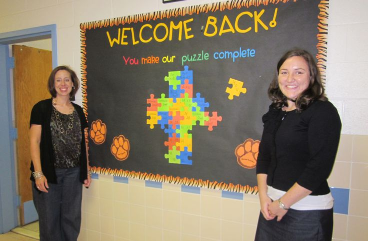 back to school bulletin boards | NCEA Elementary Schools Department hosted a back to school contest via ...