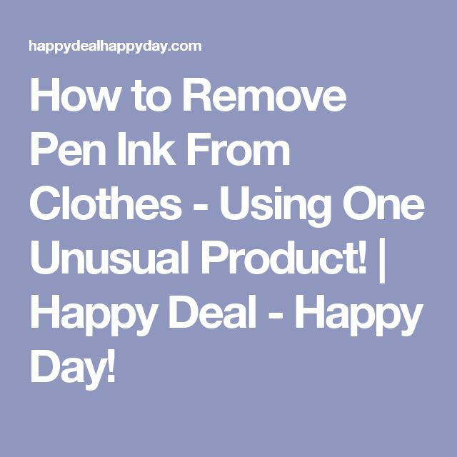 Best 20 Ink Pen Stains Ideas On Pinterest Ink Removal