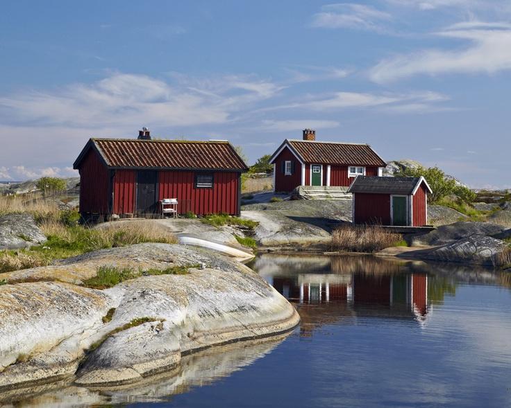huvudsk r sweden sweden sverige pinterest cottages places and the o 39 jays. Black Bedroom Furniture Sets. Home Design Ideas