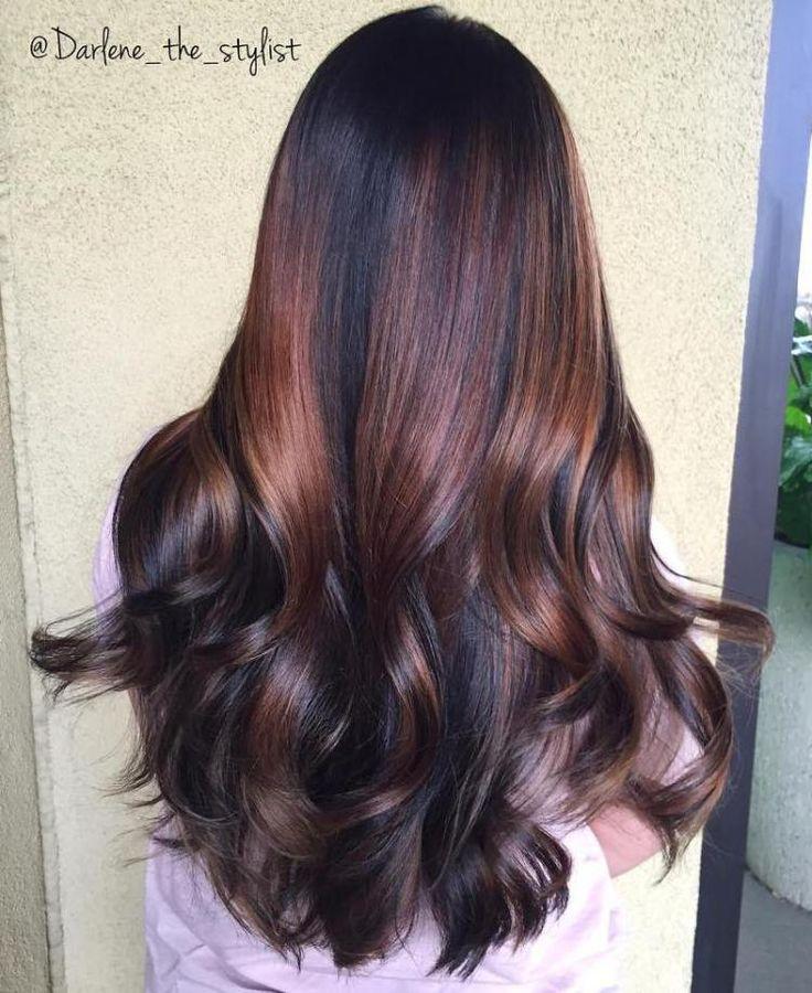 17 best ideas about chocolate cherry hair on pinterest