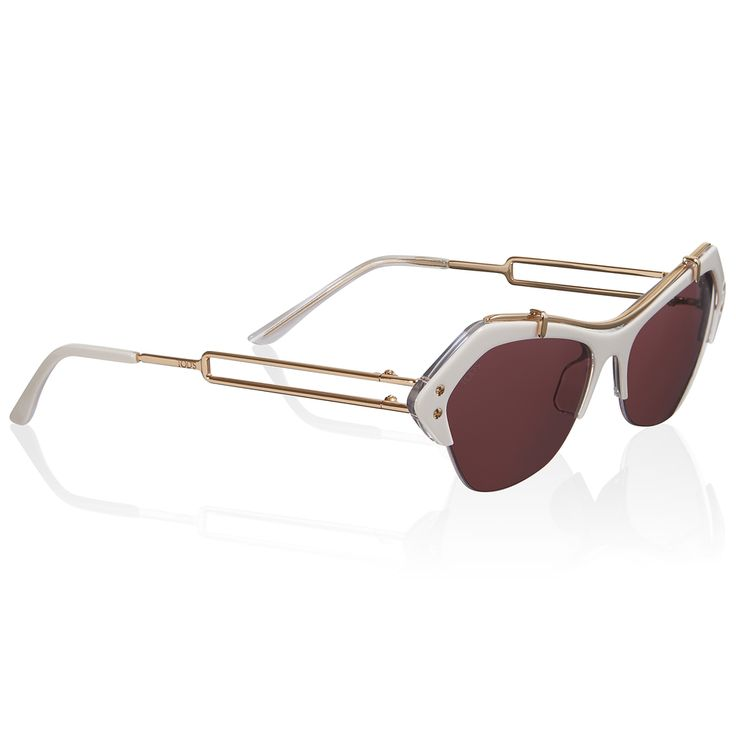TOD'S - #Sunglasses with coloured lenses, shaded frames and gilded temples with Tod's designer retro appeal. #TheLuxer #Tods #SS15 #NewCollection