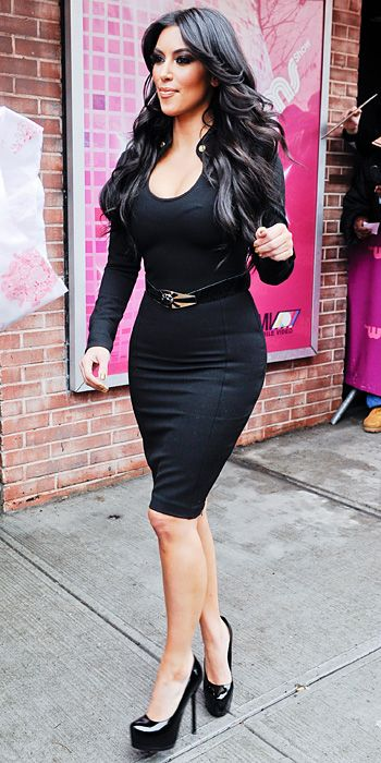 Kim Kardashian's 2011 Looks: Everything She Wore in 84 Days - January 21 from #InStyle