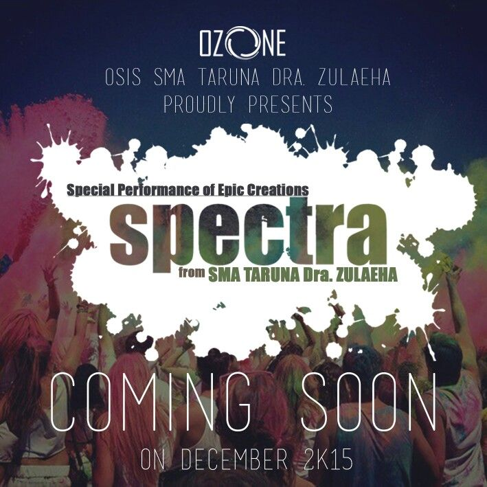 Design COMING SOON 2 'SPECTRA' by kep
