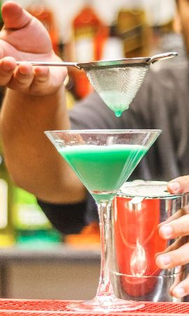 Enjoy Grasshopper cocktail bade by #EuropeanBartenderSchool #EBSLasVegas