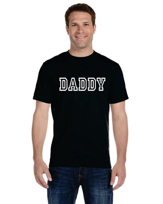 Daddy t-shirt personalized gifts gifts for dad dad shirt