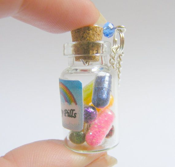 176 best images about jewelry bottles on pinterest for Pill bottle jewelry