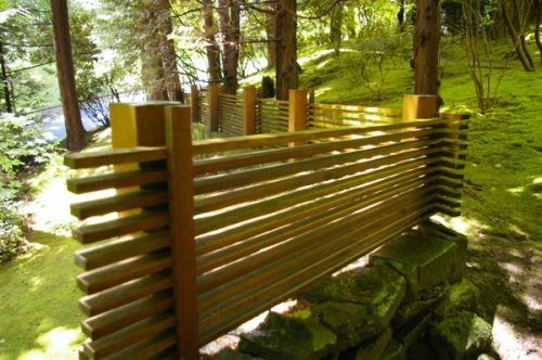 Japanese Fence Decor Types of Natural Japanese Fence Ideas